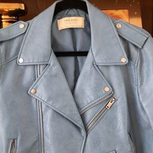 Zara Jackets & Coats - Zara faux leather jacket